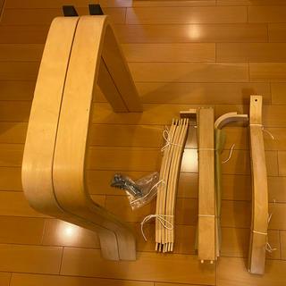 イケア(IKEA)のIKEA ポエング 1人がけソファーチェア(ロッキングチェア)
