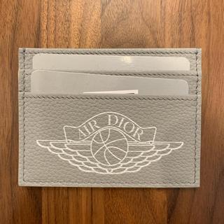 クリスチャンディオール(Christian Dior)のnike dior airdior jordan カードケース グレー(名刺入れ/定期入れ)