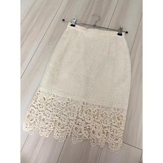 リリーブラウン(Lily Brown)のリリーブラウン  レースタイトスカート(ひざ丈スカート)