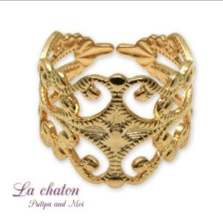 ロキエ(Lochie)の🎀   【ゴールド】  すかしリング(リング(指輪))