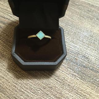 指輪 ミントグリーン ゴールド(リング(指輪))