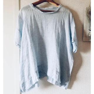 ネストローブ(nest Robe)のネストローブ 半袖ブラウスとリネン刺繍スカート(シャツ/ブラウス(半袖/袖なし))