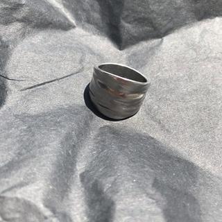 ロキエ(Lochie)のビンテージライクシルバーリング silver accessory(リング(指輪))