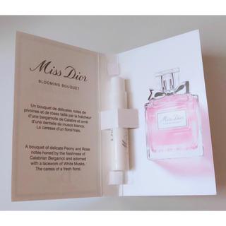ディオール(Dior)のミス ディオール ブルーミング ブーケ サンプル (香水(女性用))