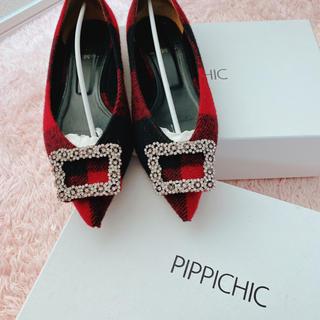 ピッピ(Pippi)のpippichlc 2019AW  ビジューフラットシューズ(バレエシューズ)