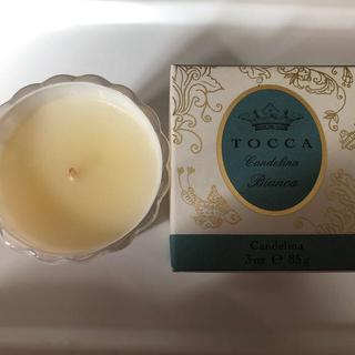 トッカ(TOCCA)のトッカ キャンデリーナ ビアンカの香り(85g)(キャンドル)