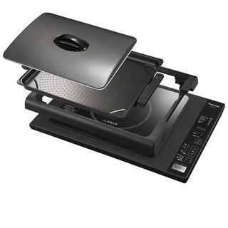 パナソニック(Panasonic)の【新品未開封】Panasonic IHホットプレート KZ-HP1100-K(ホットプレート)