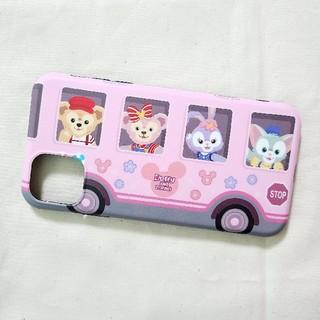 ダッフィー(ダッフィー)のダッフィーフレンズ iPhone11 スマホケース ピンク(iPhoneケース)