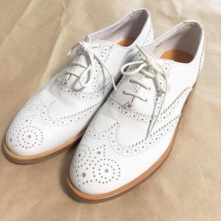 スピックアンドスパン(Spick and Span)のLa TENACEウイングチップシューズ 37(ローファー/革靴)