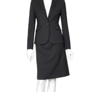 オリヒカ(ORIHICA)の【新品】オリヒカ スカートスーツ 7 W66 濃紺 春夏 OL DMW(スーツ)