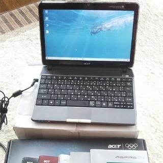 エイサー(Acer)のモバイルノートパソコン カメラ/4GB/320GB(ノートPC)