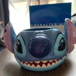 ディズニー(Disney)のスティッチフェイスマグカップ(マグカップ)