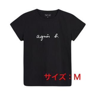 アニエスベー(agnes b.)のagnes b. Tシャツ Mサイズ ブラック 新品未使用品(Tシャツ(半袖/袖なし))
