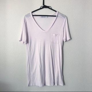 アレキサンダーワン(Alexander Wang)のT by Alexander Wang Tシャツ 激レアベビーピンク XS(Tシャツ(半袖/袖なし))