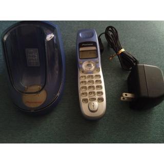 パイオニア(Pioneer)のpioneer コードレス電話機 TF-FS12-A(その他)
