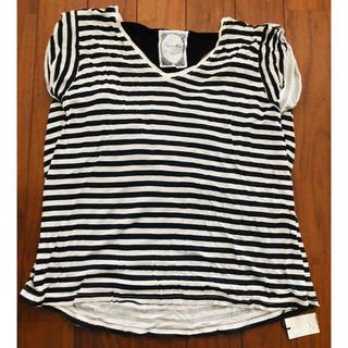 ラグナムーン(LagunaMoon)のラグナムーン タグ付き新品未使用ボーダーTシャツ(Tシャツ(半袖/袖なし))