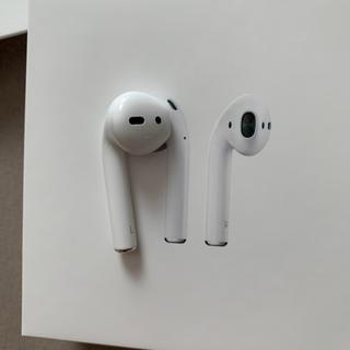 アップル(Apple)のAirPods 純正品 第2世代 左耳のみ(ヘッドフォン/イヤフォン)