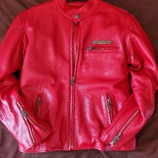 クロムハーツ(Chrome Hearts)のかず様専用購入禁止貴重シングルライダースジャケット(ライダースジャケット)