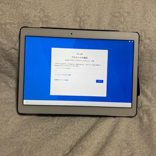 エヌティティドコモ(NTTdocomo)のタブレット d-tab d-01h   10.1inch  ジャンク品(タブレット)