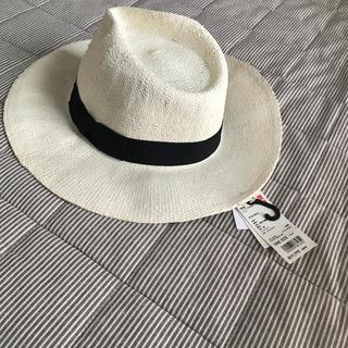ユニクロ(UNIQLO)のUNIQLO新品麦わら帽子(麦わら帽子/ストローハット)