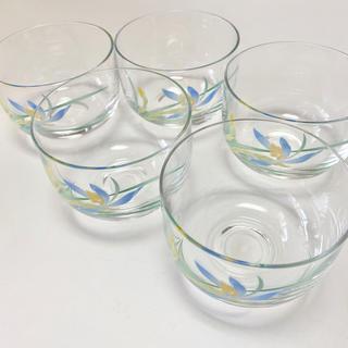 コウランシャ(香蘭社)の香蘭社 ガラス冷茶碗 【未使用品】(グラス/カップ)