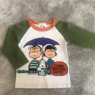 ファミリア(familiar)のファミリア スヌーピー  長袖 90(Tシャツ/カットソー)