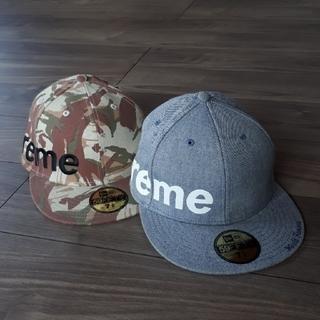 シュプリーム(Supreme)のSupreme 2007ss Solid Side Logo Cap(キャップ)