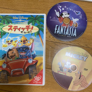 ディズニー(Disney)のスティッチ!ザ・ムービー DVD3点セット(アニメ)