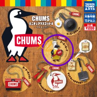 チャムス(CHUMS)のCHUMSミニチュアマスコット4 ガチャ 〇が付いてあるもの2つ(キャラクターグッズ)