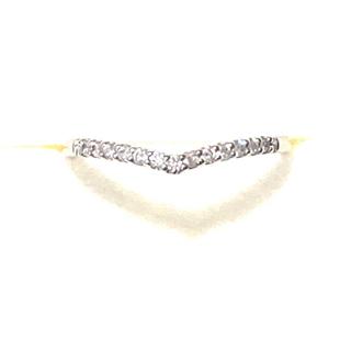 れい様♡K10 ダイヤハーフエタニティリング(リング(指輪))