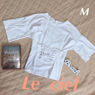 お値下げ 韓国ファッション M(Tシャツ(半袖/袖なし))