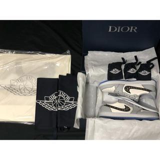 ディオール(Dior)のDior×Nike Air Jordan 1Low (スニーカー)