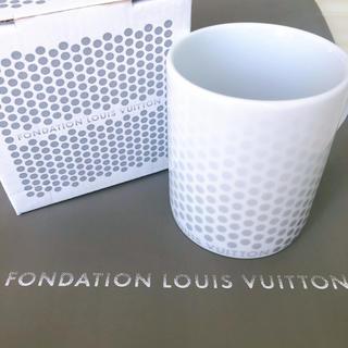 ルイヴィトン(LOUIS VUITTON)の♥日本未発売♥ルイヴィトン美術館♥LOUIS VUITTON♥マグカップ♥(グラス/カップ)