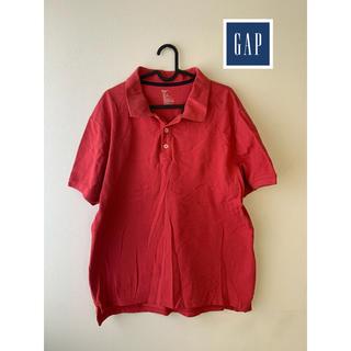 ギャップ(GAP)のGAP ポロシャツ メンズ 赤(ポロシャツ)