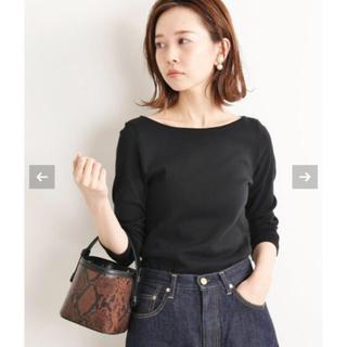 イエナ(IENA)のIENA AURALEE 別注ボートネックTシャツ(カットソー(長袖/七分))