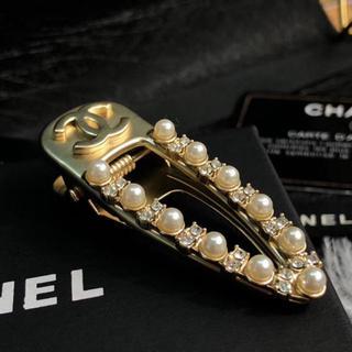 シャネル(CHANEL)のシャネルヘアクリップ ヘアアクセサリー セール品(バレッタ/ヘアクリップ)