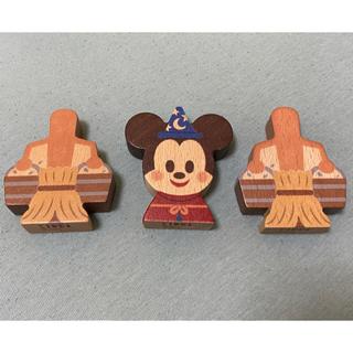Disney - KIDEA  【限定】ファンタジア D23   ミッキー&ほうき2つ
