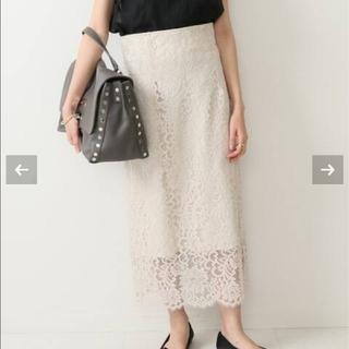 ノーブル(Noble)のあお様専用 ノーブルレーススカート 36(ひざ丈スカート)
