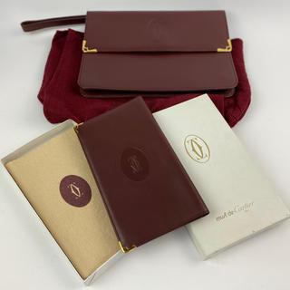 カルティエ(Cartier)のお得!カルティエ メンズ長財布・バッグセット! (セカンドバッグ/クラッチバッグ)