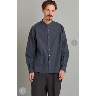 スティーブンアラン(steven alan)のスティーブンアラン バンドカラーシャツ 新品未使用(シャツ)
