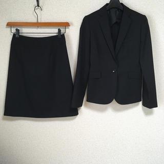 オリヒカ(ORIHICA)の【新品】オリヒカ スカートスーツ 7 W66 黒 就活 OL DMW(スーツ)