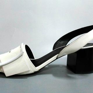 ジルサンダー(Jil Sander)のジルサンダー サンダル 36 レディース - 白(サンダル)