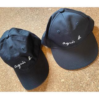 アニエスベー(agnes b.)の【値下げ】アニエスベー/レディースキャップ/キッズキャップ/親子コーデ(帽子)