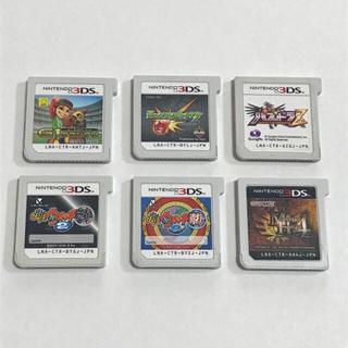 ニンテンドー3DS(ニンテンドー3DS)の3DSソフト 6点セット(まとめて)(携帯用ゲームソフト)