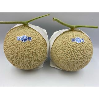 静岡県産 小玉クラウンメロン🍈白等級 2玉(フルーツ)