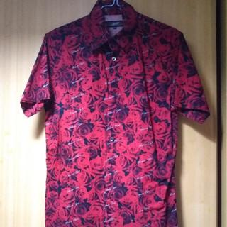 ジャンポールゴルチエ(Jean-Paul GAULTIER)のジャンポール・ゴルチエ 半袖ローズシャツ48(シャツ)