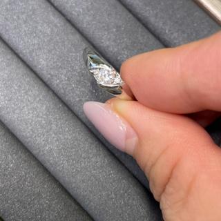 プラチナ900 ダイヤモンドリング 最終価格!(リング(指輪))