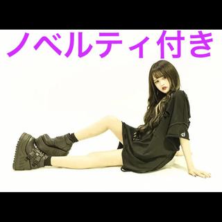 ミルクボーイ(MILKBOY)の新品 KRY「MUSHIKUI HF」ブラック ♡ 完売品(Tシャツ/カットソー(半袖/袖なし))