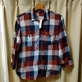 アメリカンラグシー(AMERICAN RAG CIE)の[新品未使用品]アメリカンラグシーチェックシャツ 七分丈 ネルシャツ(シャツ)