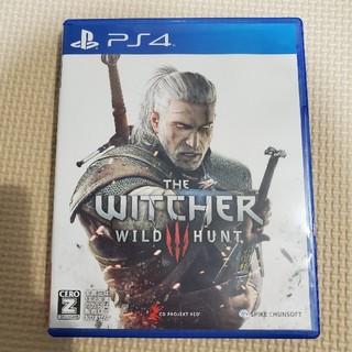 プレイステーション4(PlayStation4)のウィッチャー3 ワイルドハント PS4(家庭用ゲームソフト)
